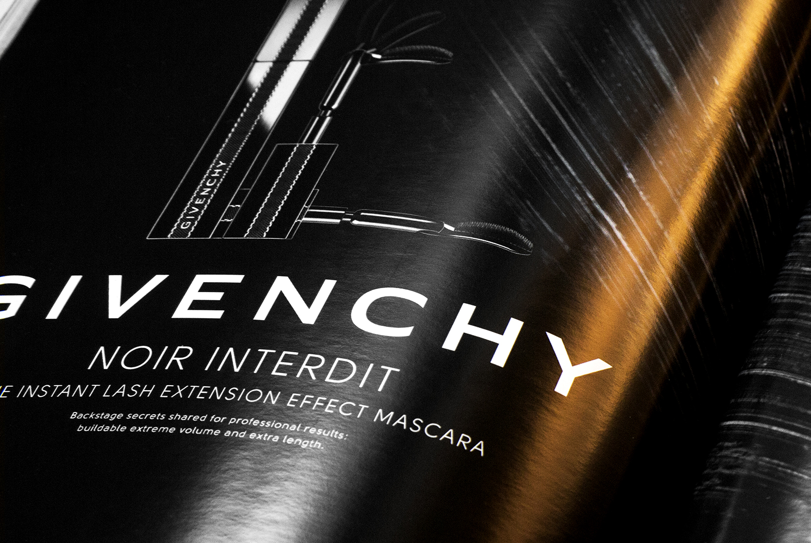 CARLA COSTE / ART DIRECTOR GIVENCHY – Noir Interdit Relaunch